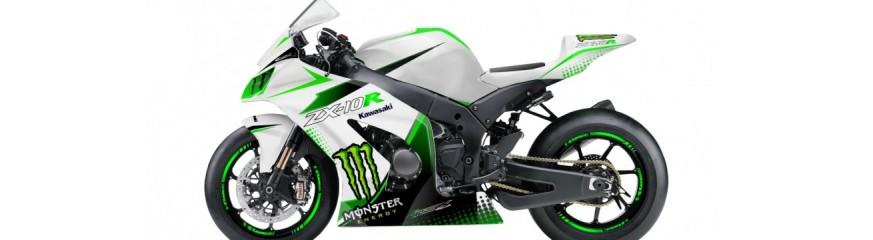 Carenage moto Kawasaki